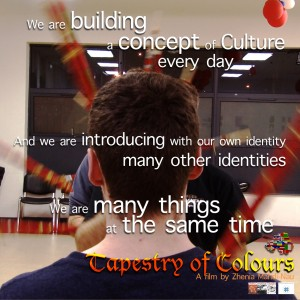 Tapestry of colours Poster-Building culture