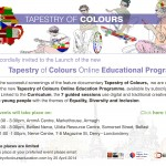 Launch Invitations-Tapestry of Colours Education